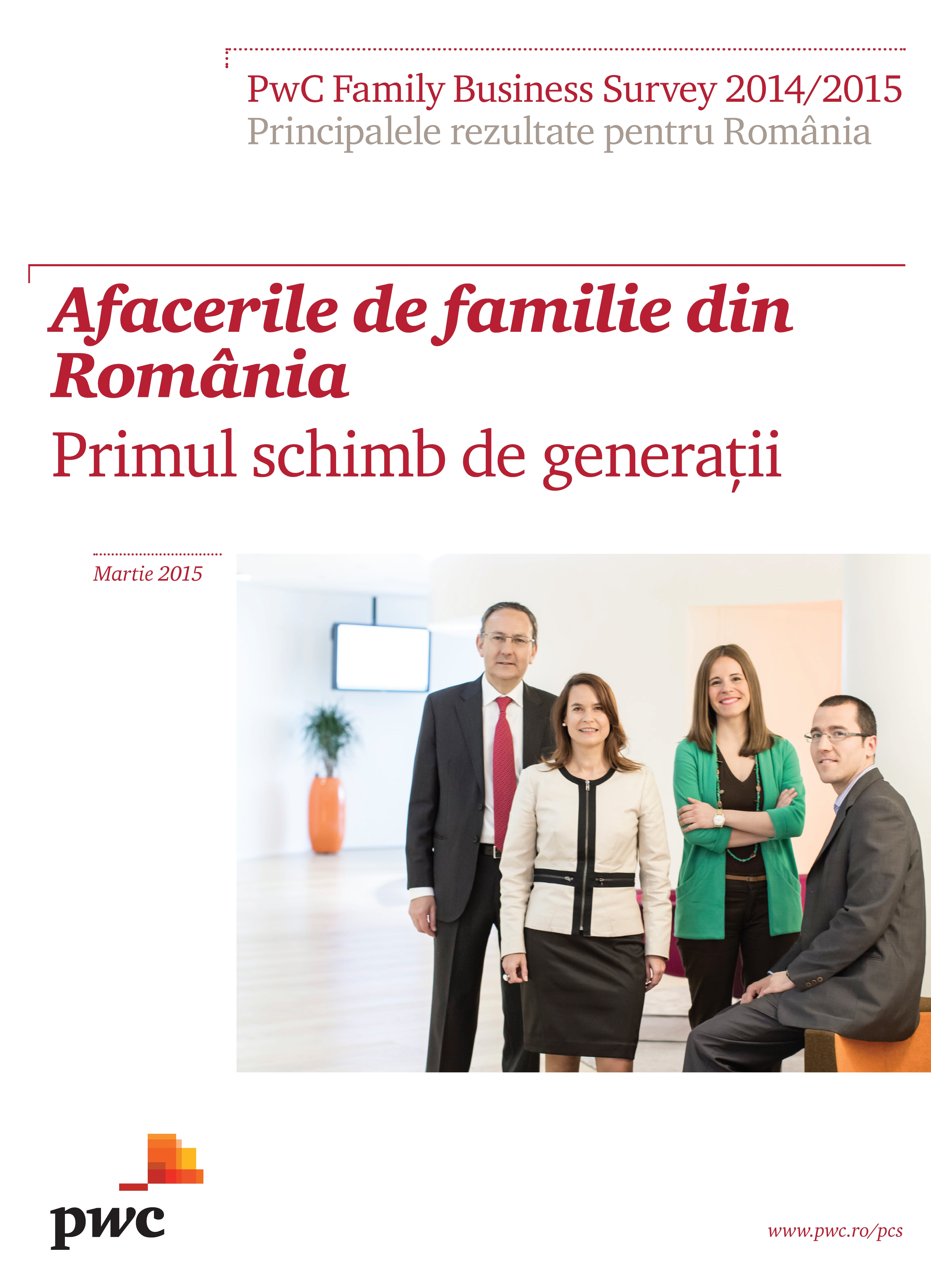 PwC Family Business Survey 2014/2015